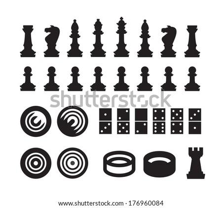 Games. Vector format - stock vector