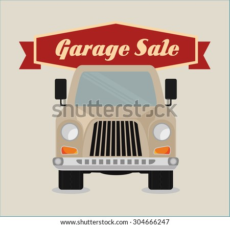 Garage digital design, vector illustration 10 eps graphic