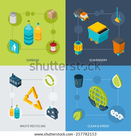 Garbage disposal stock images royalty free images for Household waste design