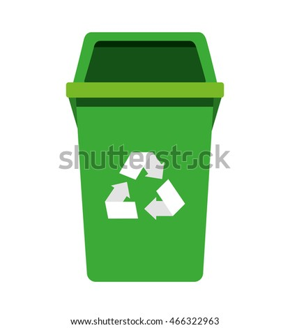 garbage waste recycle icon vector illustration design