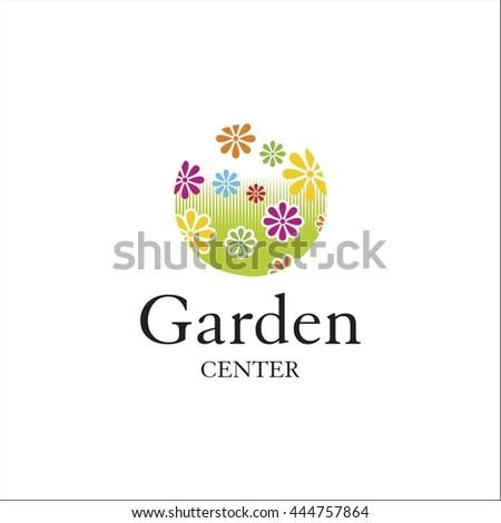 Garden center  logo - stock vector