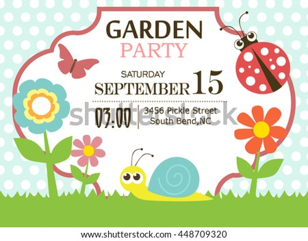 Invitations For A Tea Party as adorable invitation example