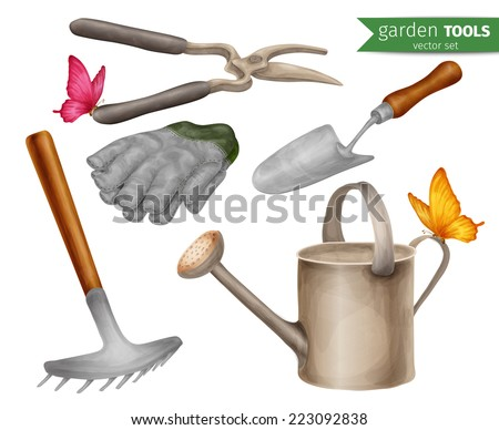 Agriculture tools clipart images for Agriculture garden tools