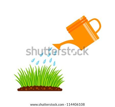Gardening - stock vector