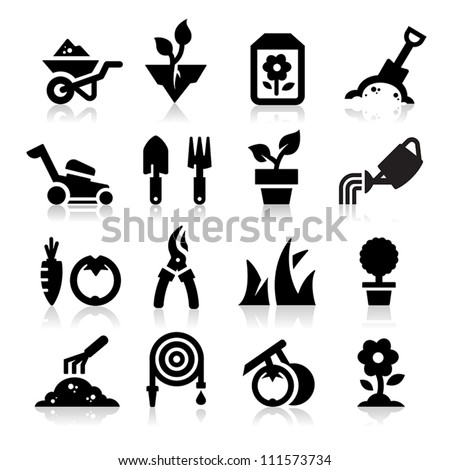Gardening icon - stock vector