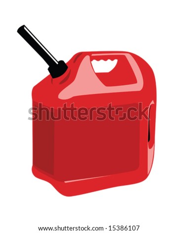 gas can vector illustration