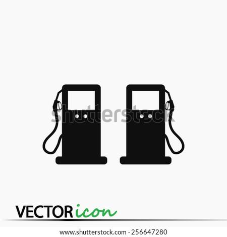gas icon - stock vector