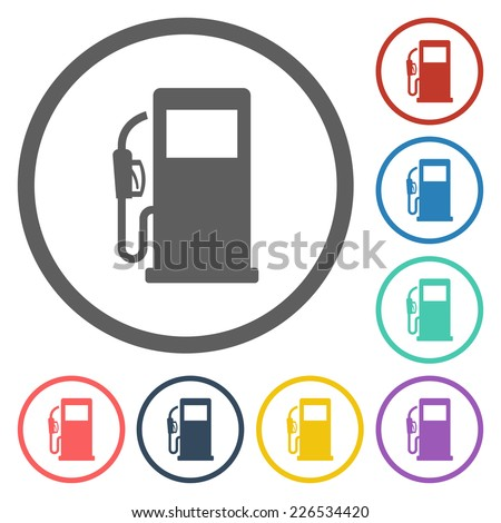 gas pump icon