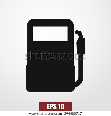 gas pump icon vector