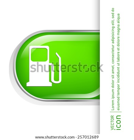 Gas Station Symbol Gas Station Gasoline Stock Vector Royalty Free