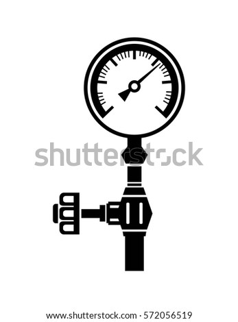 Gauge Vector Icon Stock Photo Photo Vector Illustration
