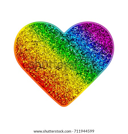 gay pride rainbow glitter heart colorful stock vector gay pride colors gay pride lego