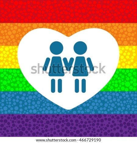 gay couple isolated on white background stock vector 581557006, Ideas