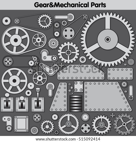 Gear Icon. Gear Icons. Gears Set