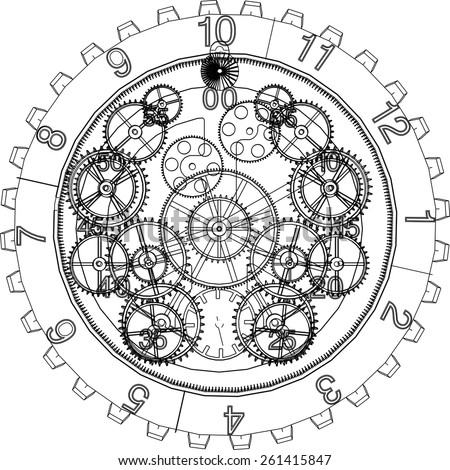 Clock Mechanism Stock Images, Royalty-Free Images ...