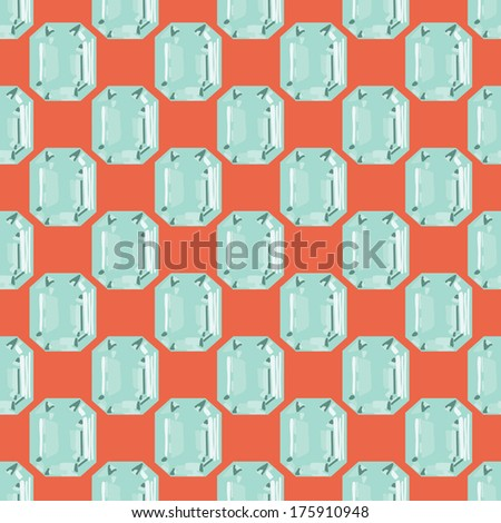 gemstone seamless texture - stock vector