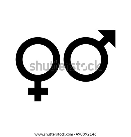 Gender Symbol Symbols Men Women Vector Stock Vector Royalty Free