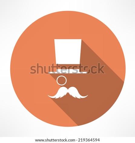 Gentleman vector icon - stock vector
