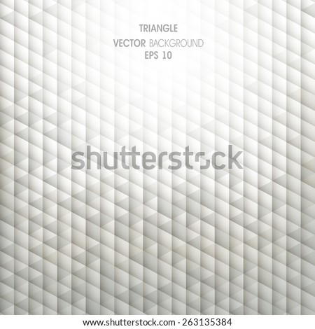 Geometric abstract background with triangles - stock vector