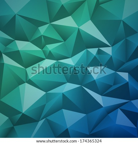Geometric abstract low-poly paper background. Vector eps-10 with transparency.  - stock vector