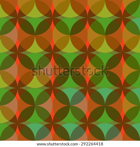 geometric abstract seamless ornament - vector illustration - stock vector