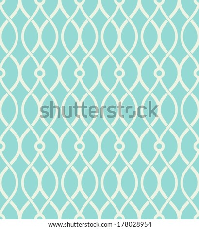 Geometric abstract seamless pattern. Classic background.  - stock vector