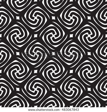 Geometric abstract seamless pattern. Simple regular background. Vector decorative illustration