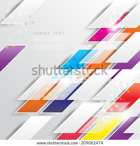Geometric and Shapes Design Background - eps10