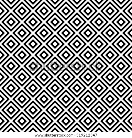 geometric art pattern background square with monochrome