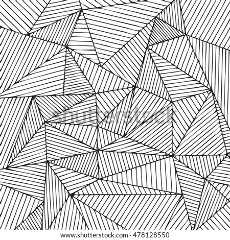 Geometric background. Triangles linear fill. ?2