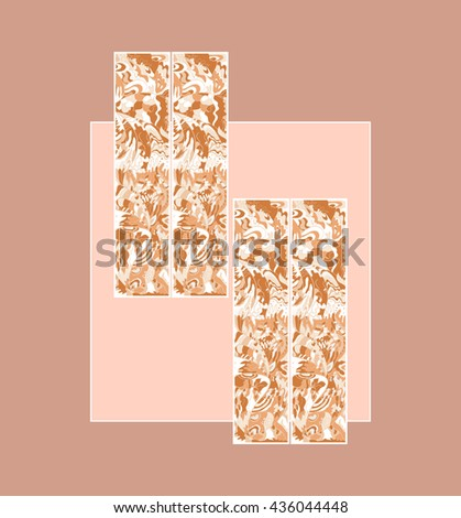 geometric background with an abstract pattern