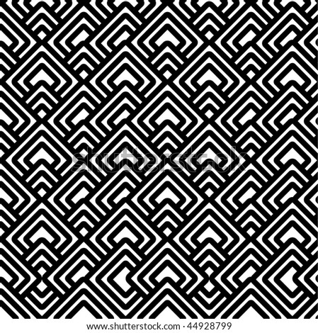 Geometric black & white pattern