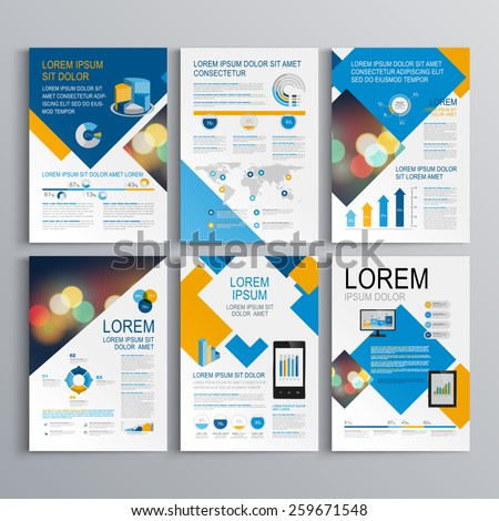 Brochure Layout Design Stock Images, Royalty-Free Images & Vectors