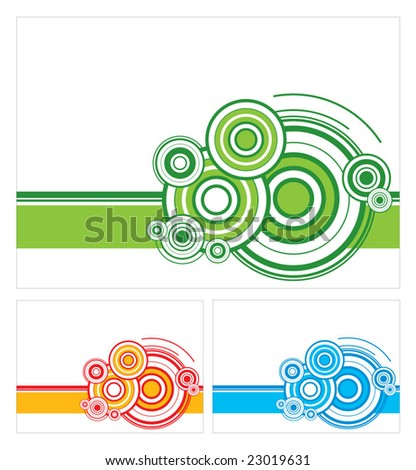 Geometric color background vector - stock vector