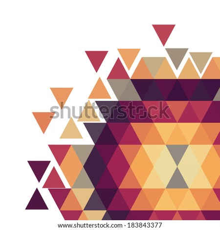 Geometric colorful pattern.Vector background.