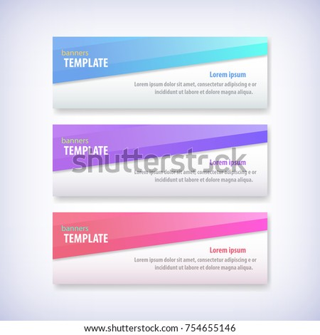 Geometric Design Banner Web Template Vector Stock Vector 754655146 ...