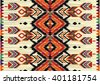 Geometric ethnic pattern seamless design for background,wallpaper,clothing and wrapping.  - stock vector