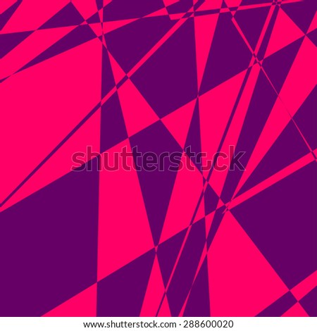 geometric imaginative background - stock vector