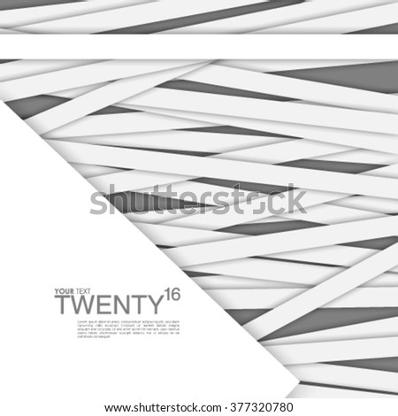 Geometric Lines Design Background - stock vector