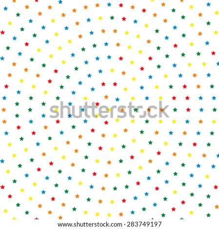 Geometric modern vector pattern. Fine texture with round dotted golorful elements
