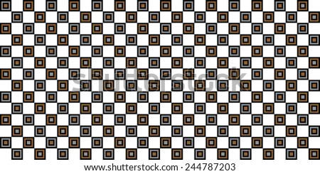 geometric multiple squares abstract pattern background illustration