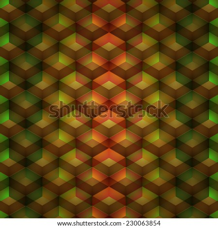 geometric pattern. abstract background for your creativity. Vector illustration - stock vector