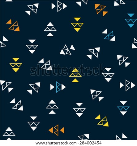 geometric pattern background - stock vector