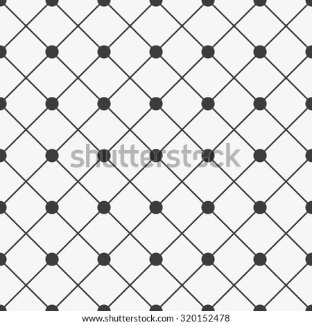 Geometric pattern in diagonal, square, dot, seamless vector background.