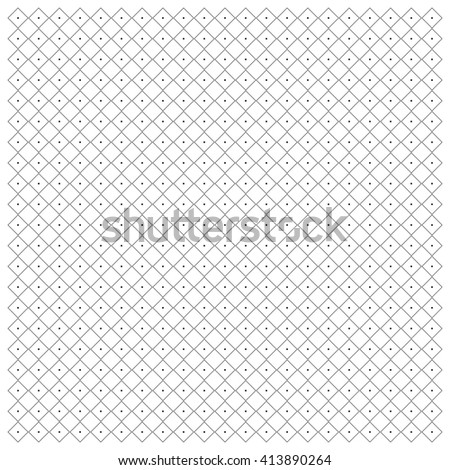 Geometric pattern of squares vector background - stock vector