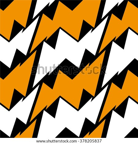 Geometric pattern of the triangle seamless vector background.