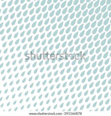 Geometric pattern rain. Blue and white ornament. Vector background.