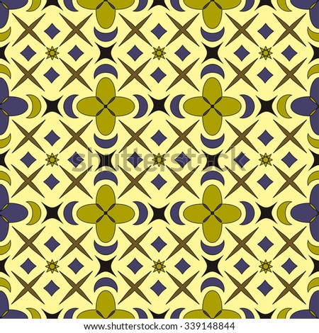 Geometric pattern. Seamless background - stock vector