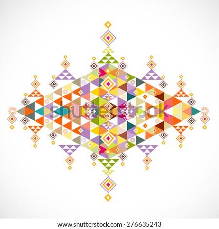 Geometric pattern thai contemporary art style stock vector geometric pattern thai contemporary art style template vector illustration toneelgroepblik Images