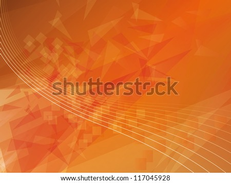 Geometric polygonal abstract background